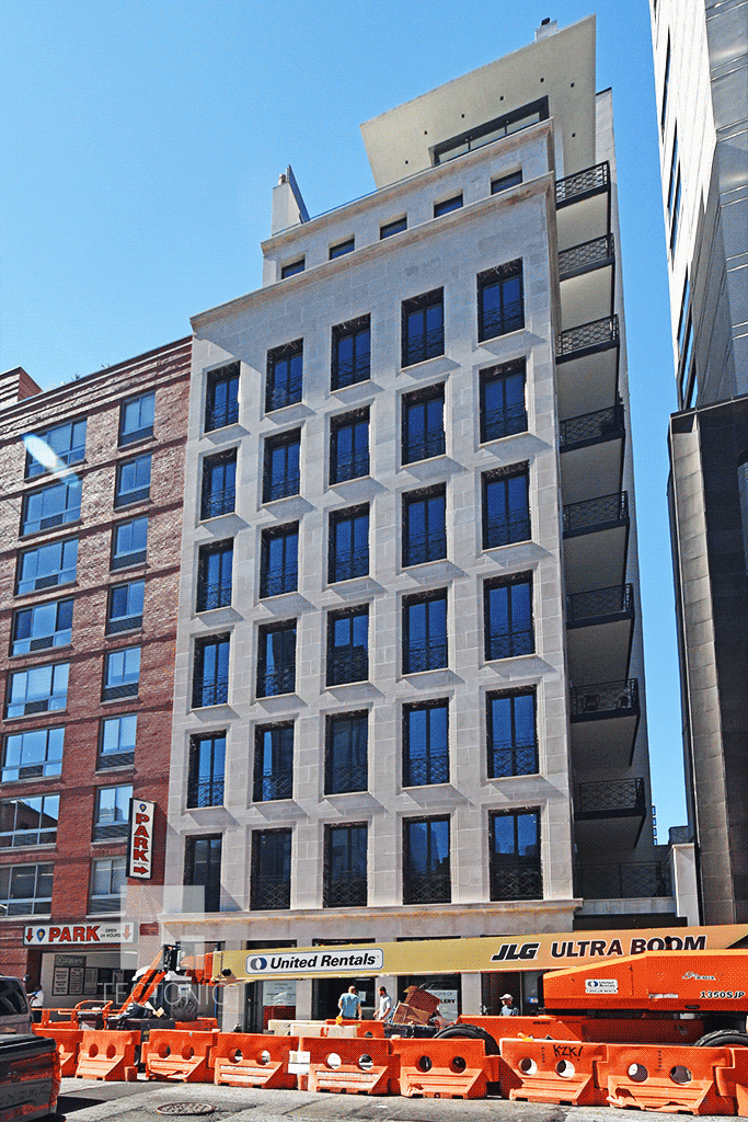 Viewed from West 24th Street