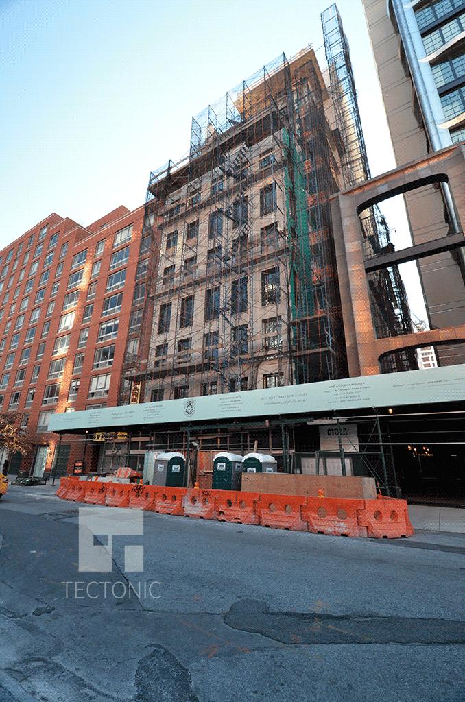 Under construction in December 2014
