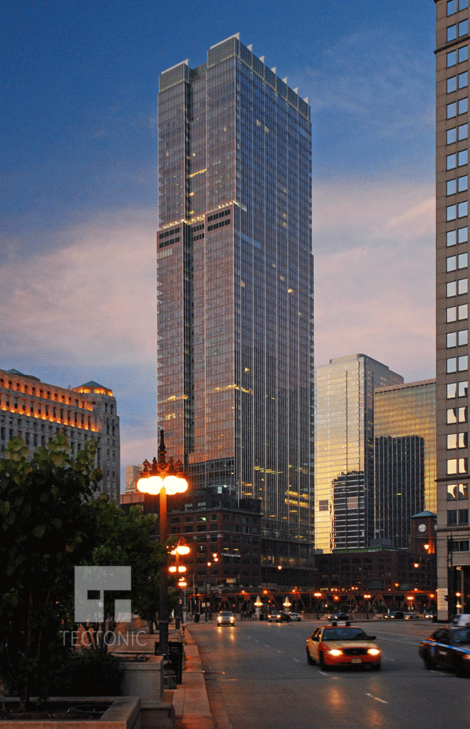 View from West Wacker Drive