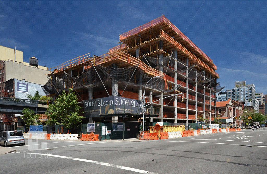 Under construction in June 2014