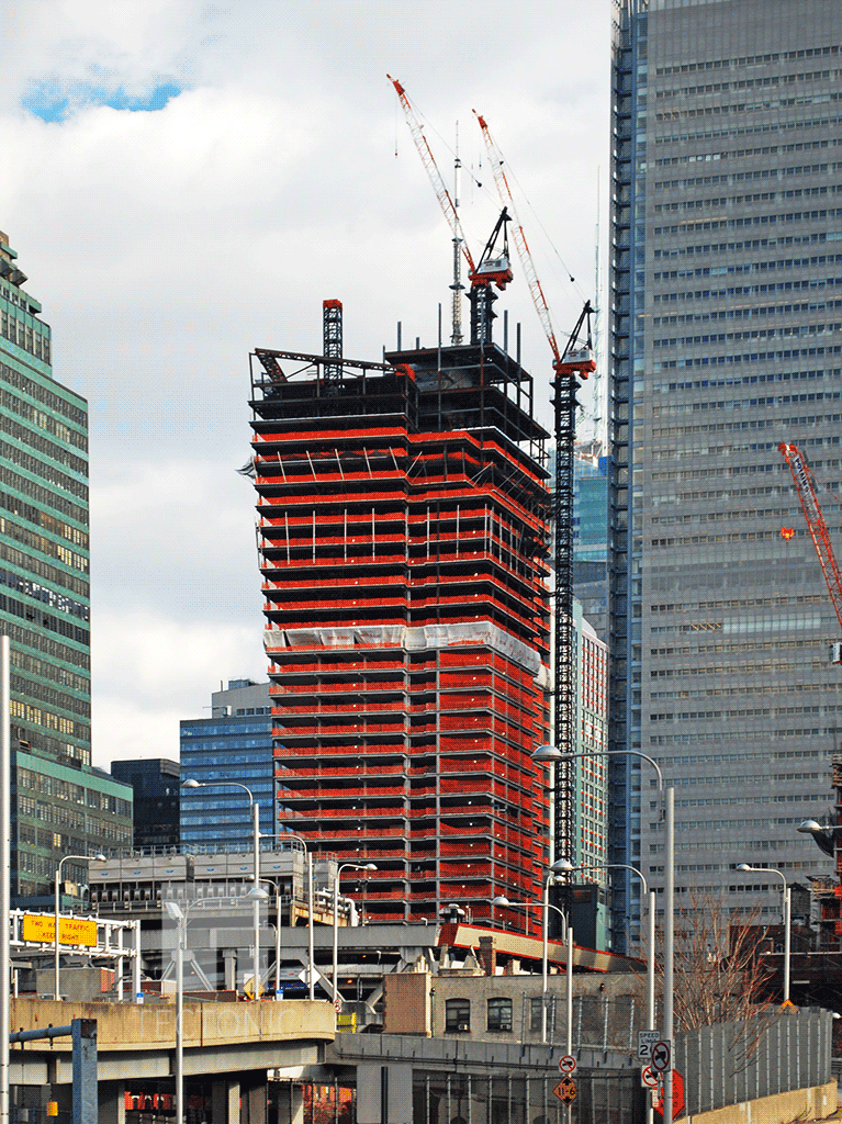 Viewed from 11th Avenue
