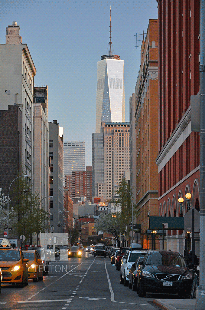 Viewed from Greenwich Village in 2014