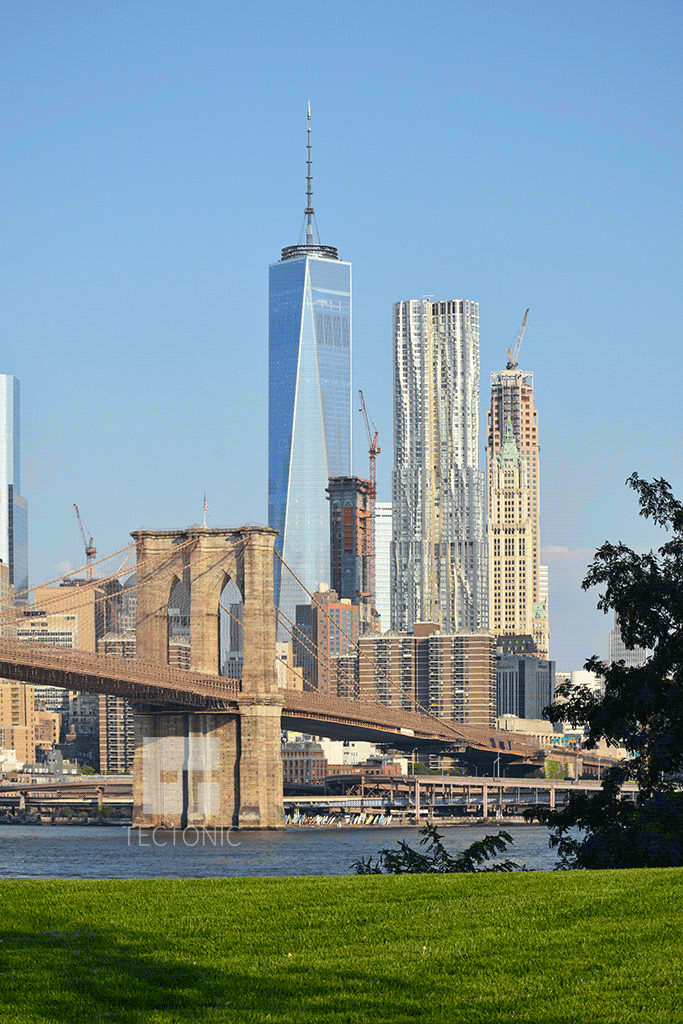 Viewed from Brooklyn Bridge Park in August 2015