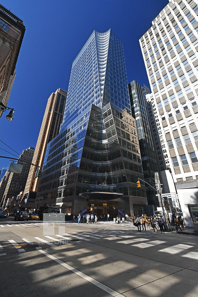 Viewed from the northeast along 6th Avenue