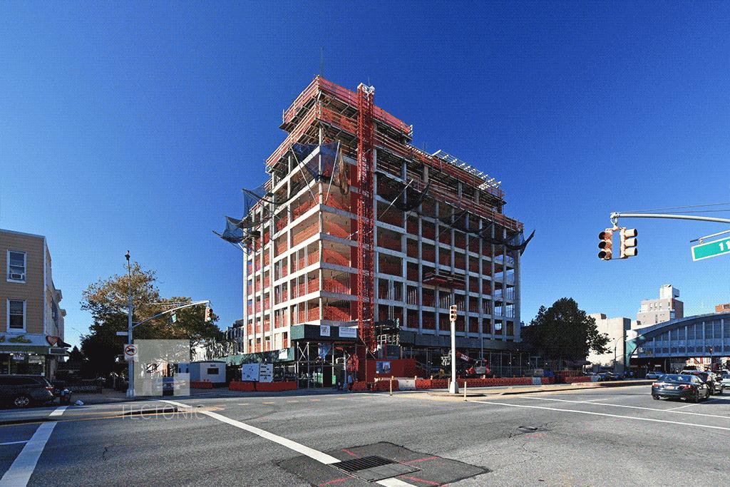 View across 4th Avenue