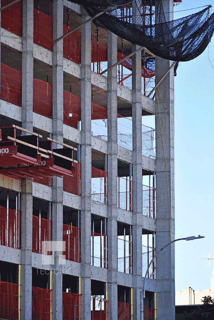 Columns along 4th Avenue