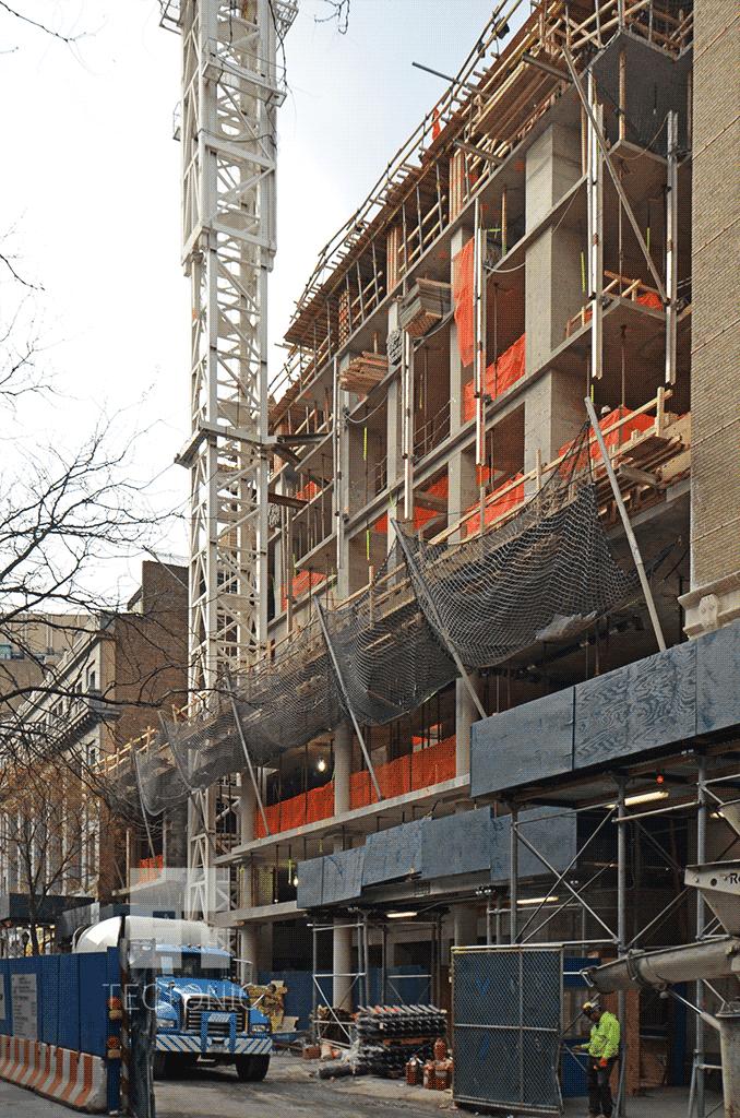 View southward along Bridge Street