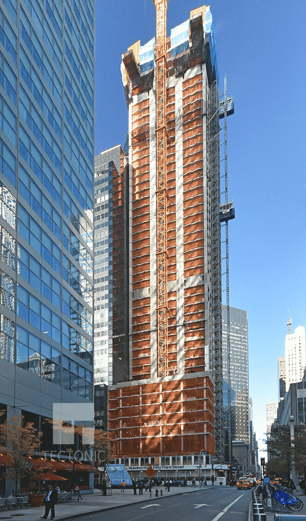View along East 53rd Street
