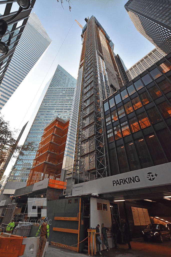 Looking up from East 53rd Street