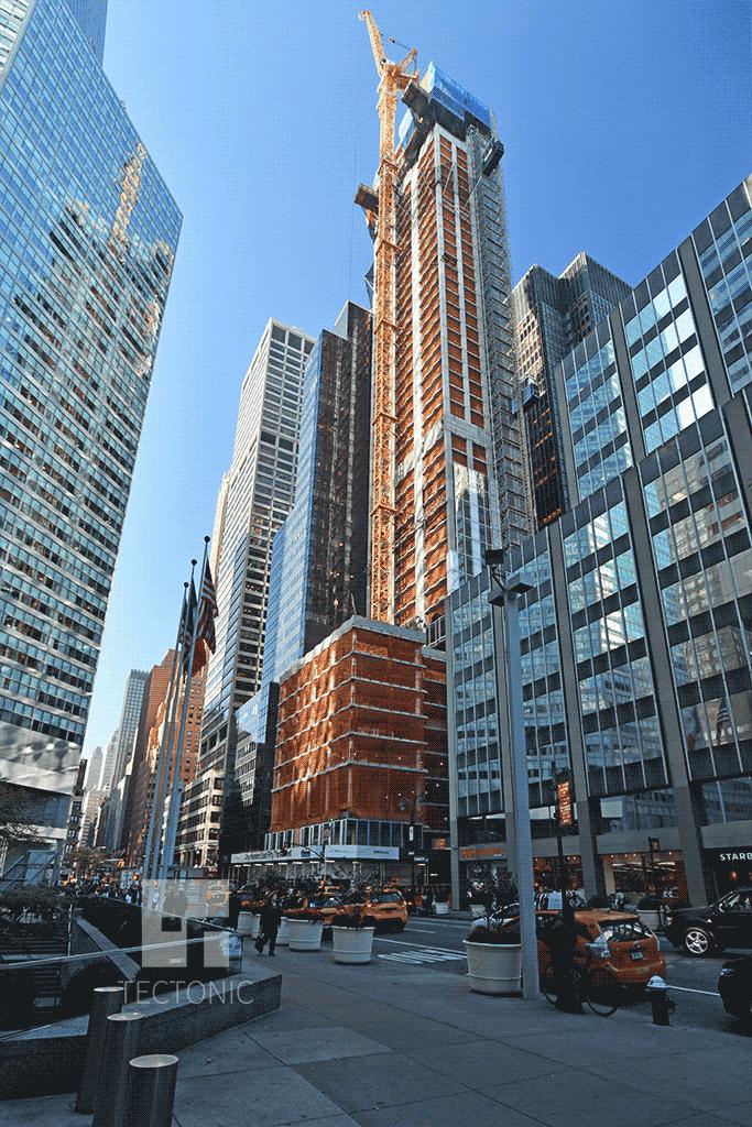 View westward from Lexington Avenue