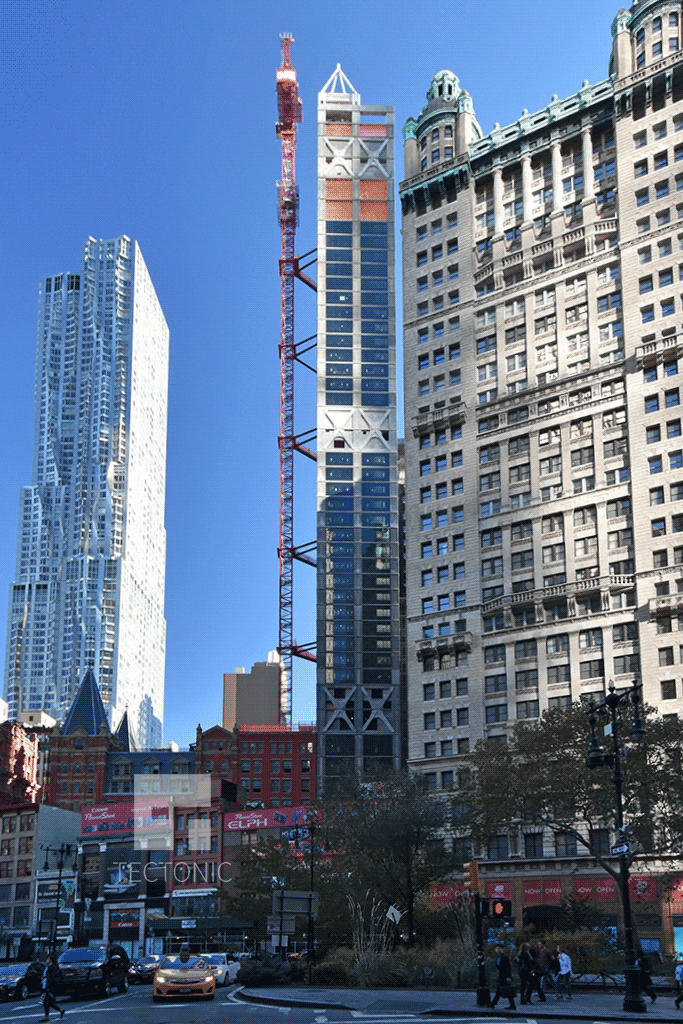 Viewed from Broadway