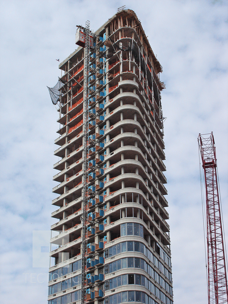 Viewed from Fulton Street