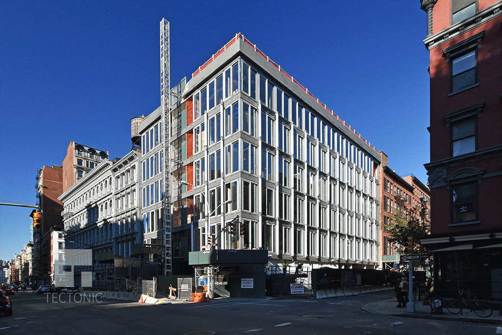 Viewed from Crosby and Broome Street