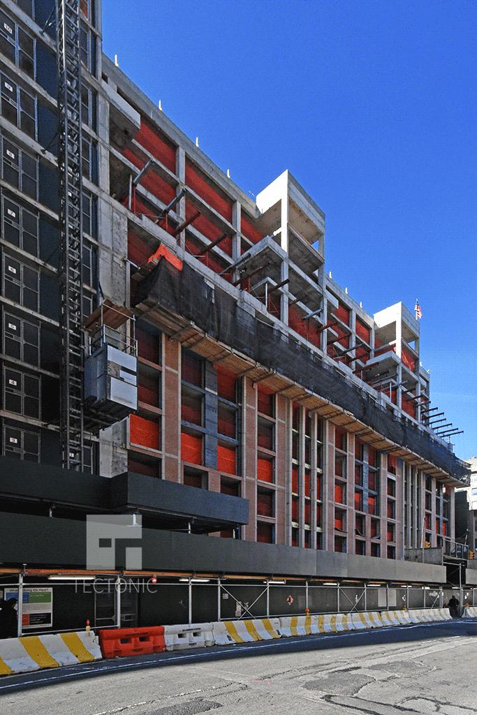 View along Hudson Street