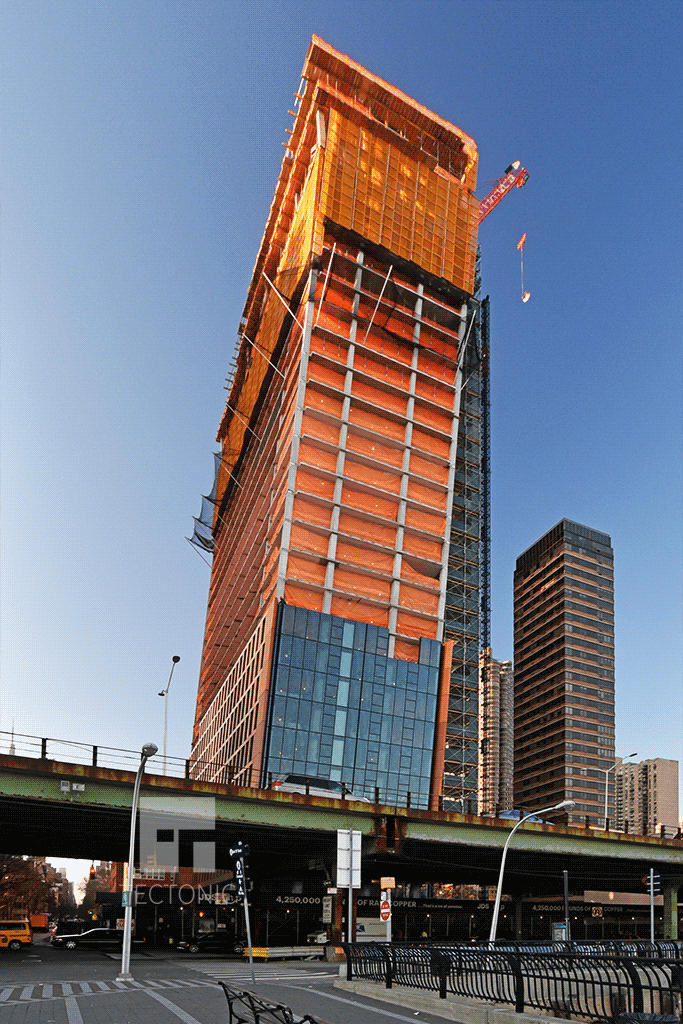 Eastern tower from the southeast