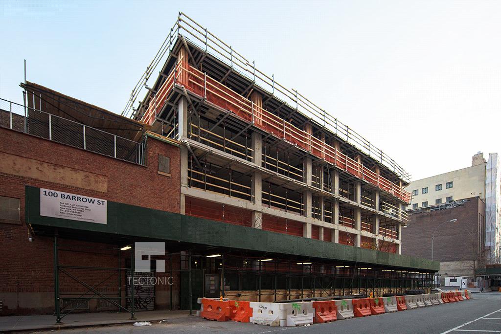 View southward along Greenwich Street
