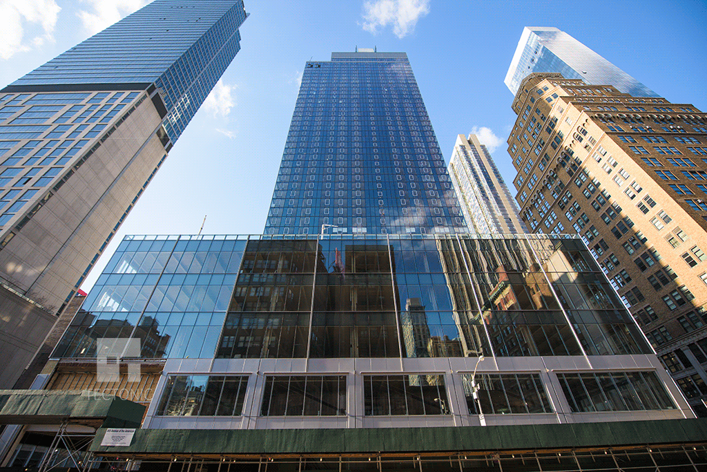 Looking up from 6th Avenue