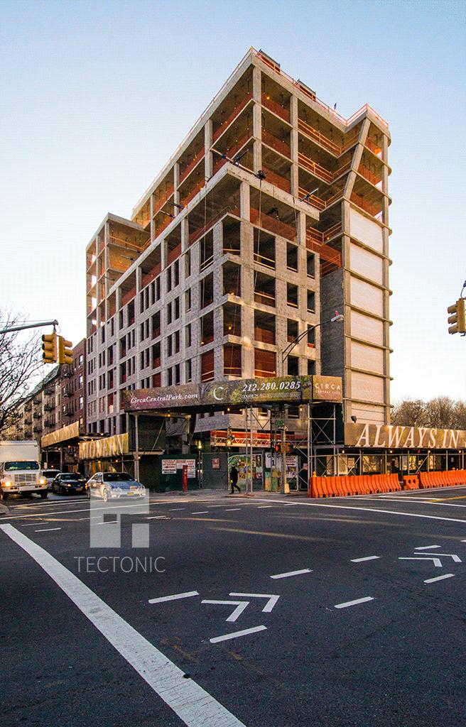 Northwestern corner at West 111th Street and Frederick Douglass Boulevard
