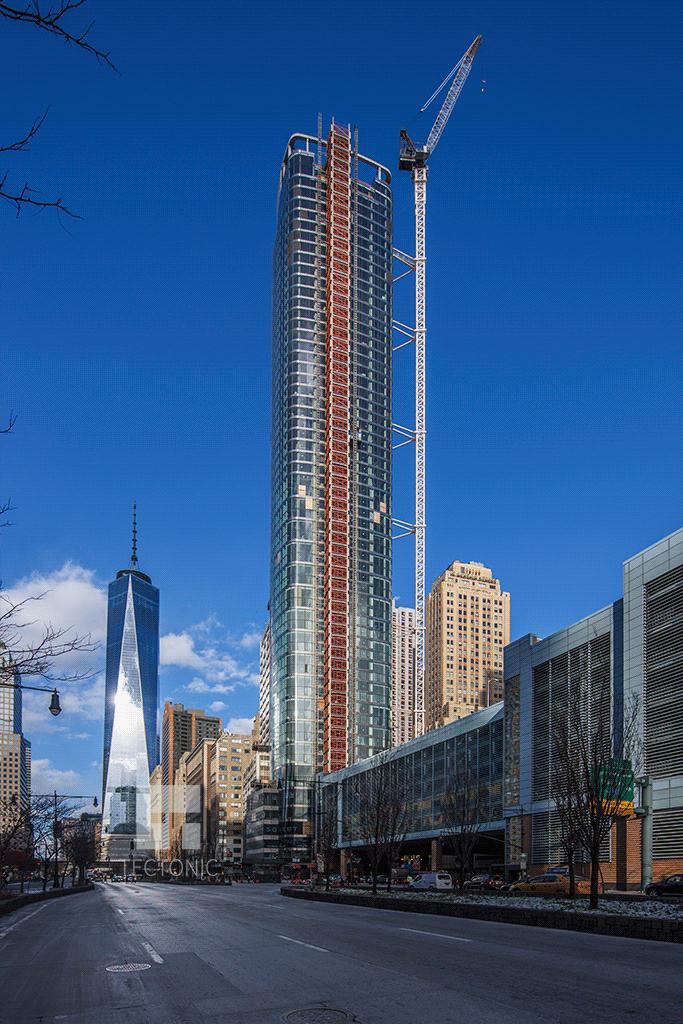 Viewed along West Street