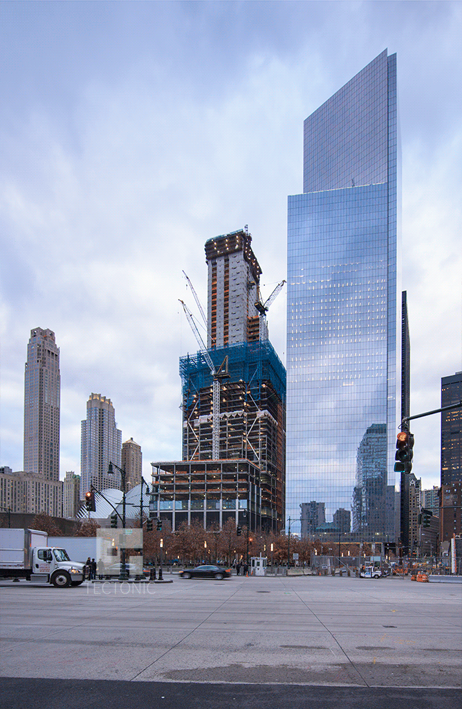 Viewed from Battery Park City