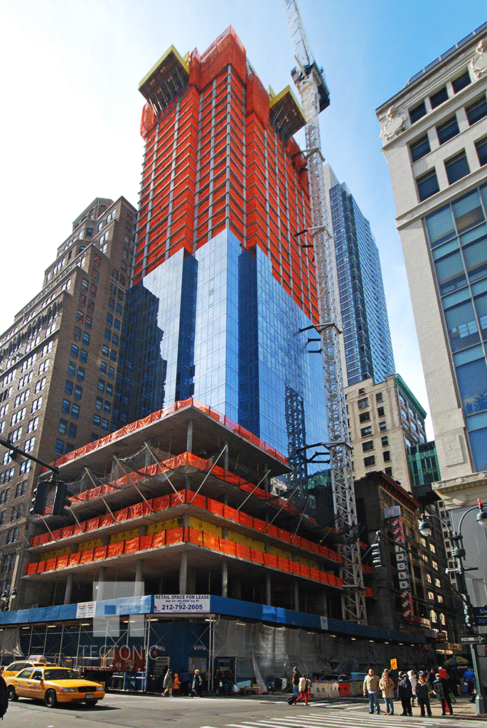 Viewed from the West 32nd Street and 6th Avenue