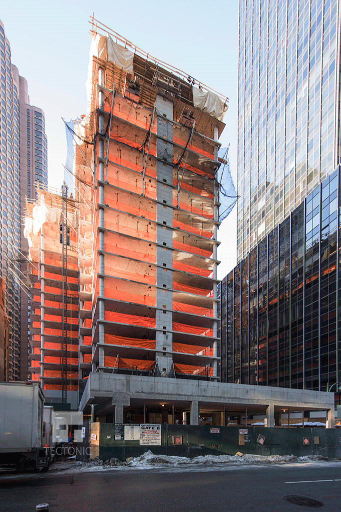 Viewed from East 40th Street