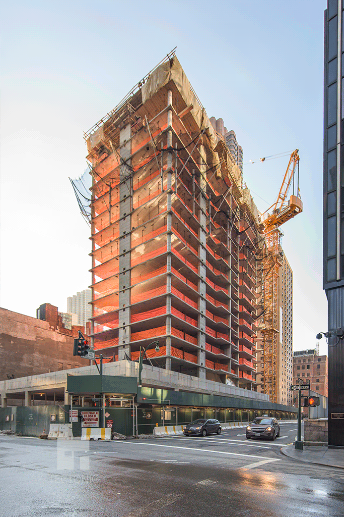 View southward from East 40th Street
