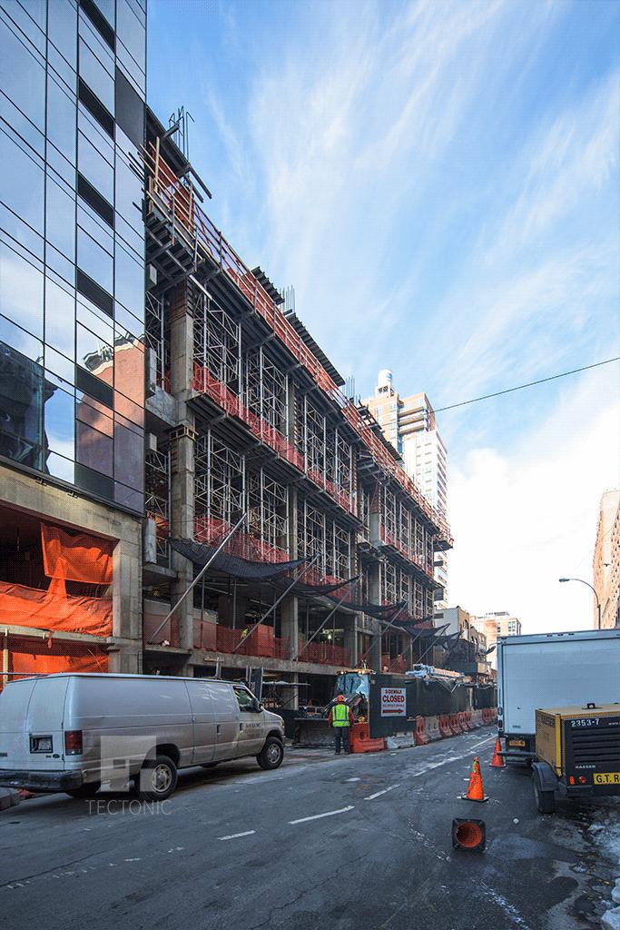 View westward along West 29th Street