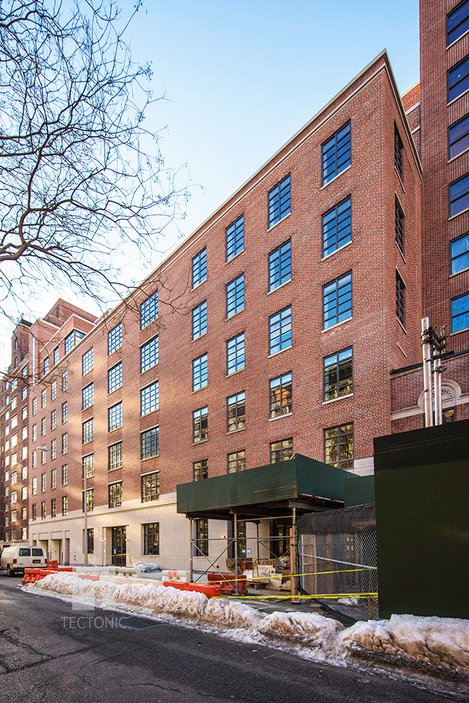 140 West 12th Street viewed from the north