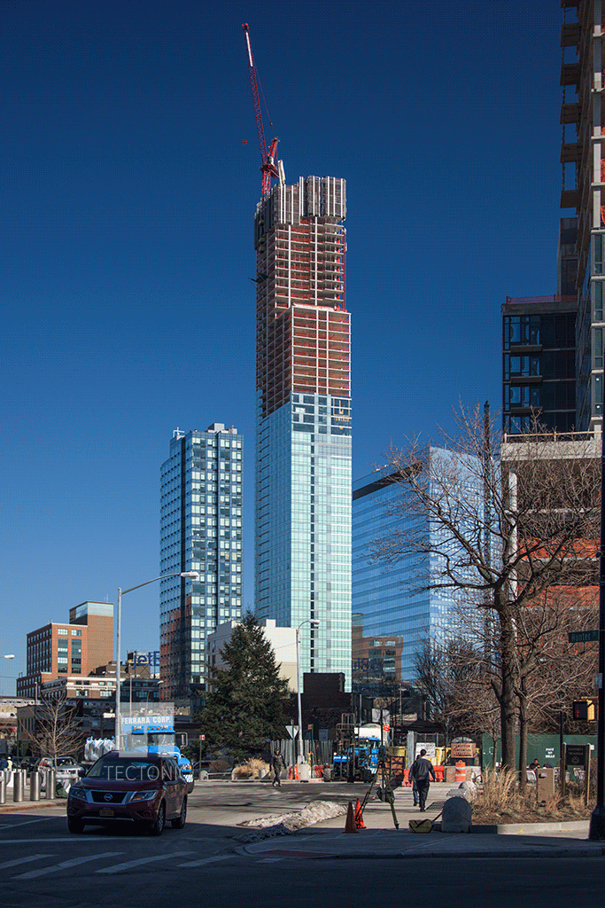 Viewed from 44th Drive