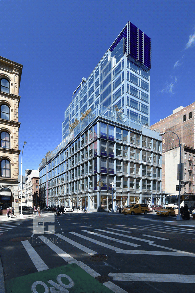 Viewed from Grand Street and Broadway