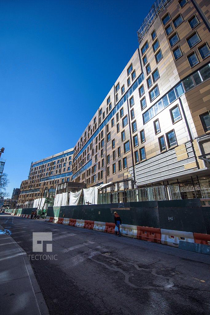 Condo section viewed along Furma Street