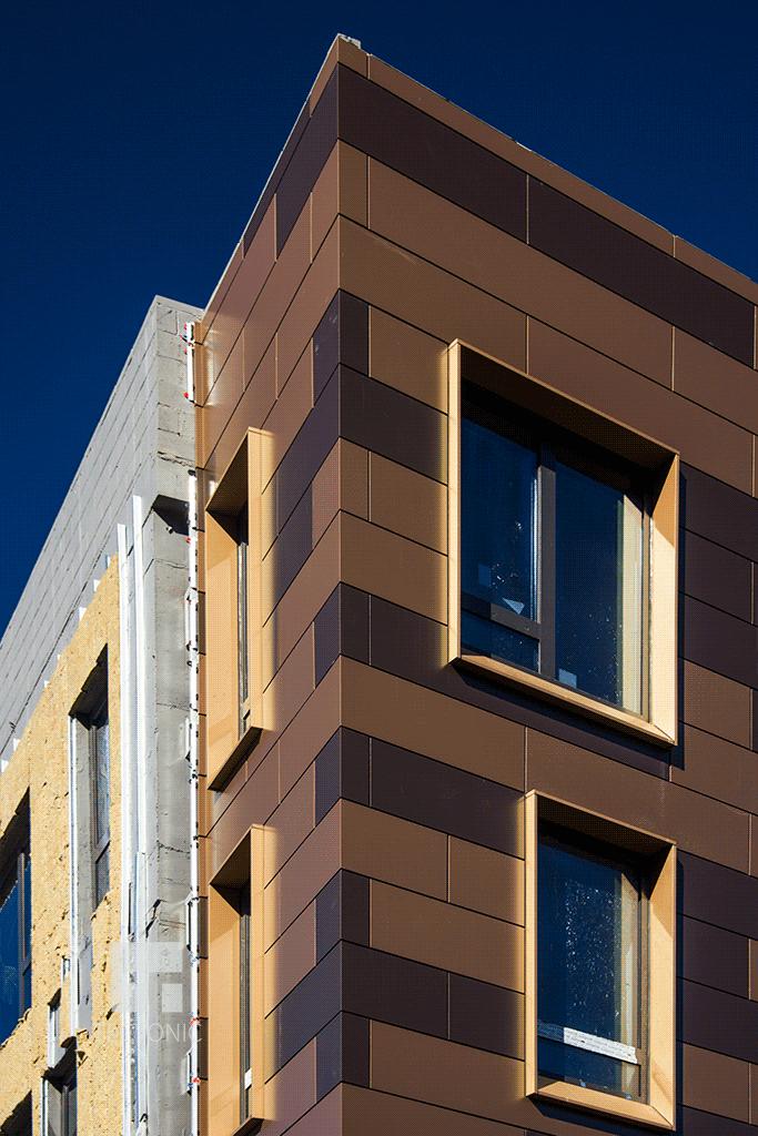 Facade close-up