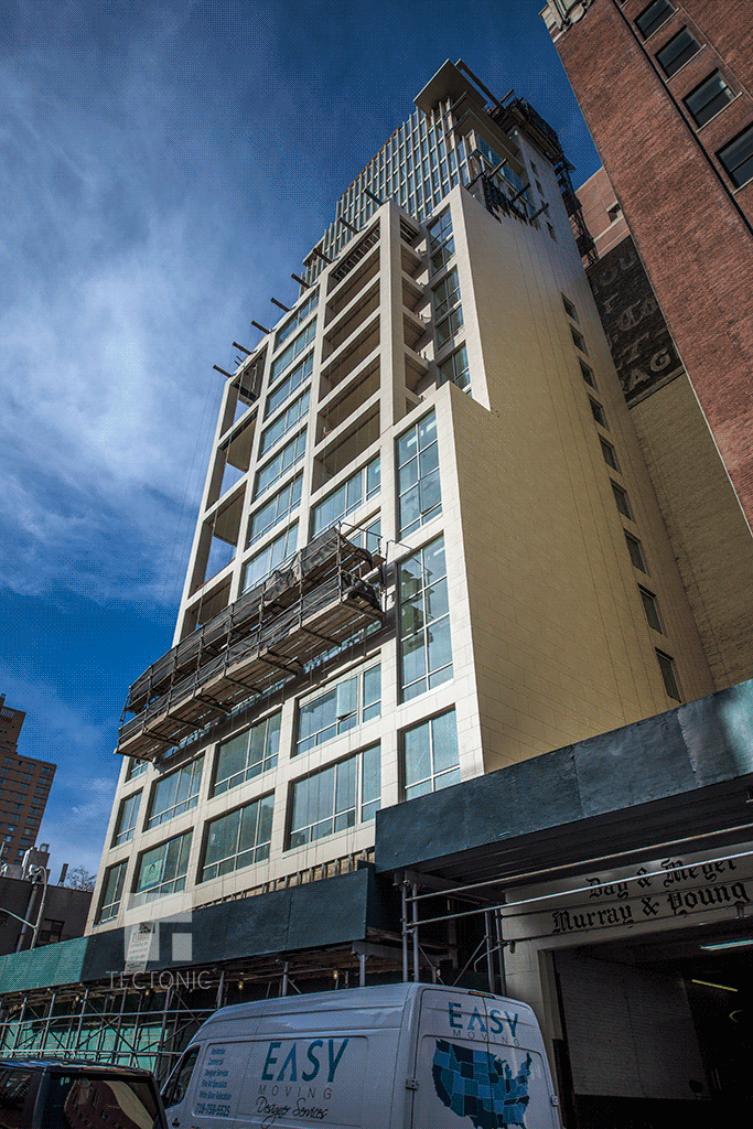 Viewed from East 61st Street