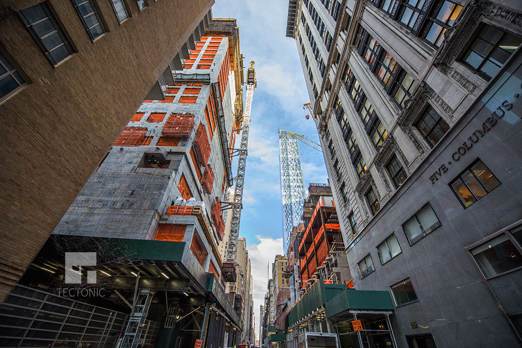 View eastward on West 58th Street