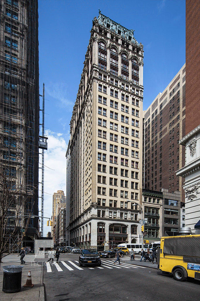 Viewed from East 26th Street and 5th Avenue