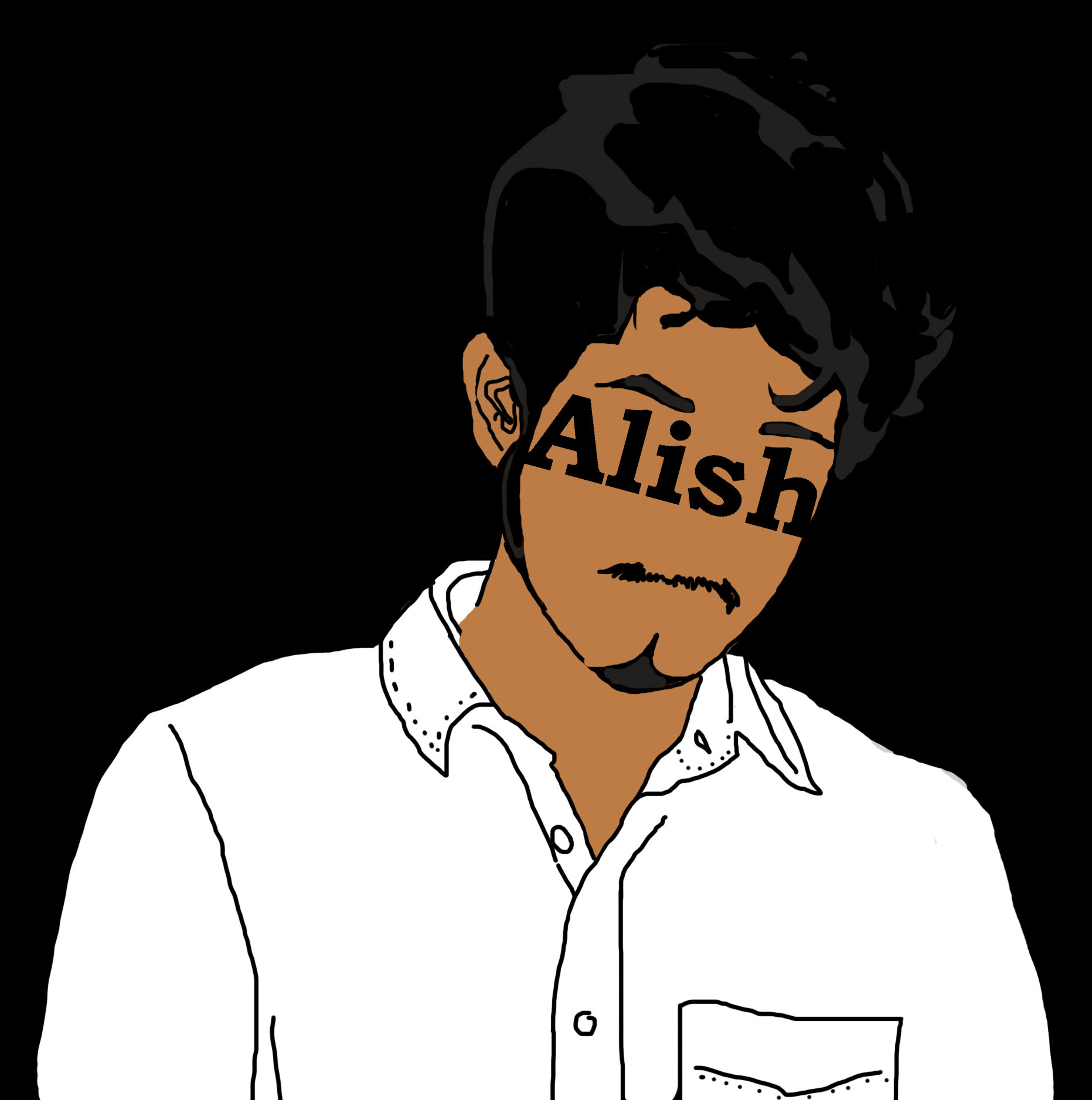Alish Dahal - Alish Dahal is a Los Angeles-based comedy writer from Nepal. He writes screenplays, short stories and performs at live storytelling events. He is also a quadruple threat, equipt with the optimism of Kimmy Schmidt, the ambition of Frank Underwood, the humor of Ellen Degeneres, and the fashion sense of Donald Glover. He pours his unique style over the pages of his writing, just like he pours soy sauce over steaming bowls of Pesto and Linguine (I said he was unique!)