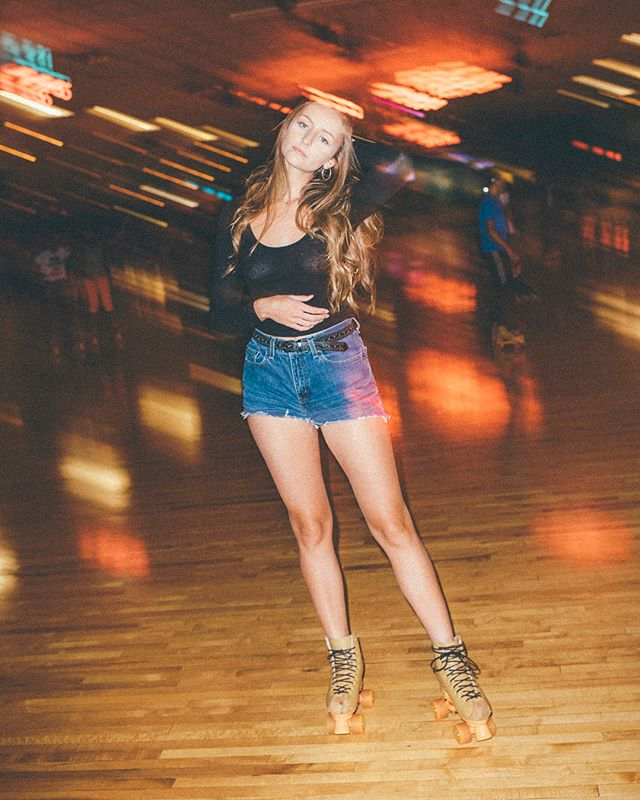 Had a fun shoot last night with @cassiesignaoff & @abigailmariehill!  #rollerskating #rollerrink #portraitpage #austin #austintx #retro #vscofilm #kodakultramax400 #nikon #flash #photooftheday #picoftheday #vsco #instagood #instagram #art #artoftheday #lifestyle #life