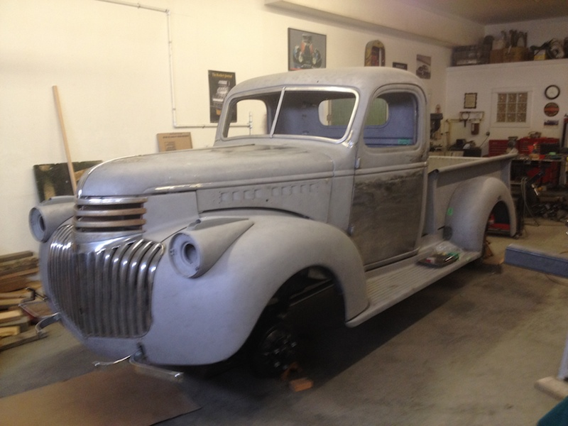 1941 Chevrolet Pickup Work In Progress