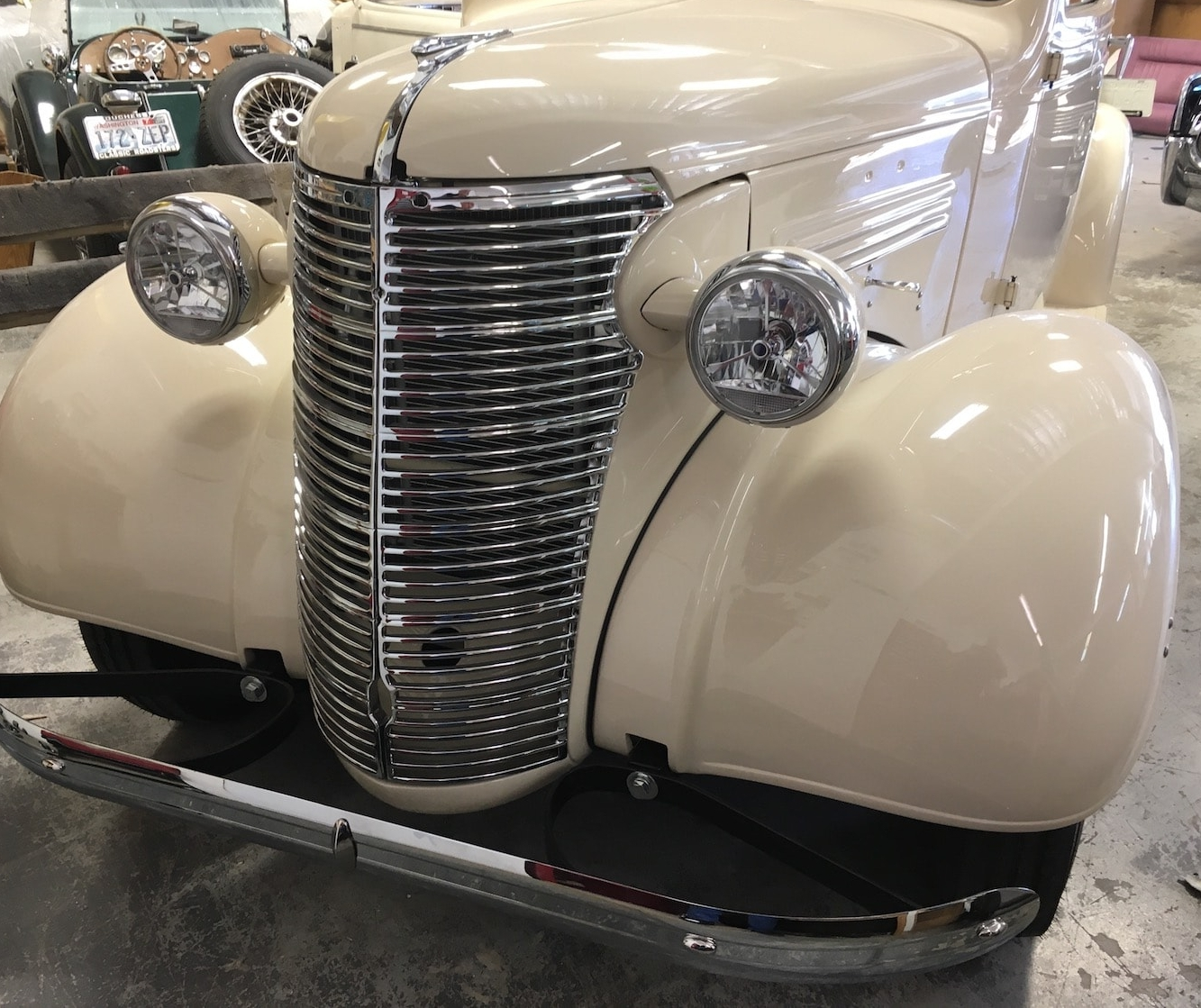1938 Stretched Cab Chevrolet Pickup