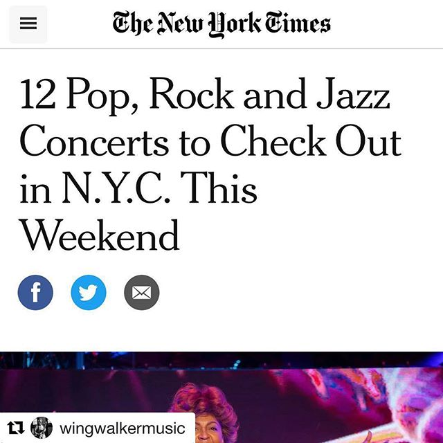 "@nytimes woo! Join us @threesbrewing 2/12 w @bigheartmachine #liddle! . . #Repost @wingwalkermusic with @get_repost ・・・ The New York Times (!!!!!) previewed Wing Walker Orchestra Hazel Release Show w/ Brian Krock's Liddle! ""Led by the young multi-reedist Drew Williams, the Wing Walker Orchestra is about to release a remarkable debut album, ""Hazel."" The music stays tightly woven, even as Williams switches up the grooves and harmonic palettes constantly; there's almost always a sharp, biting cadence coming from some part of the band (though not necessarily the rhythm section)."""