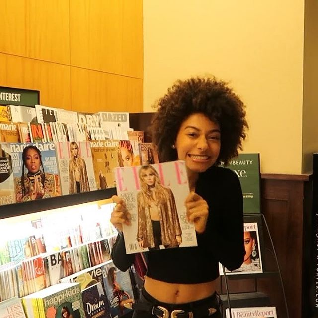 One of my favorite places to be are the aisles of @barnesandnoble finding a book to read, flipping through magazines and looking forward to the day I would see myself in one of the pages of some of the biggest fashion magazine publications. Today, I have the blessing of holding the August 2019 @ELLEUSA issue and being part of it (on 3 pages) alongside the winner of @projectrunwaybravo @iamsebastiangrey. My heart is bursting of happiness and gratitude. Pinch me! I'm in the August issue of ELLE MAGAZINE!!! ❤️ A huge blessing. 🙏🏽🎊 . . . #NataliaHarris #ElleMagazine #ProjectRunway #StateMgmt #SebastianGrey