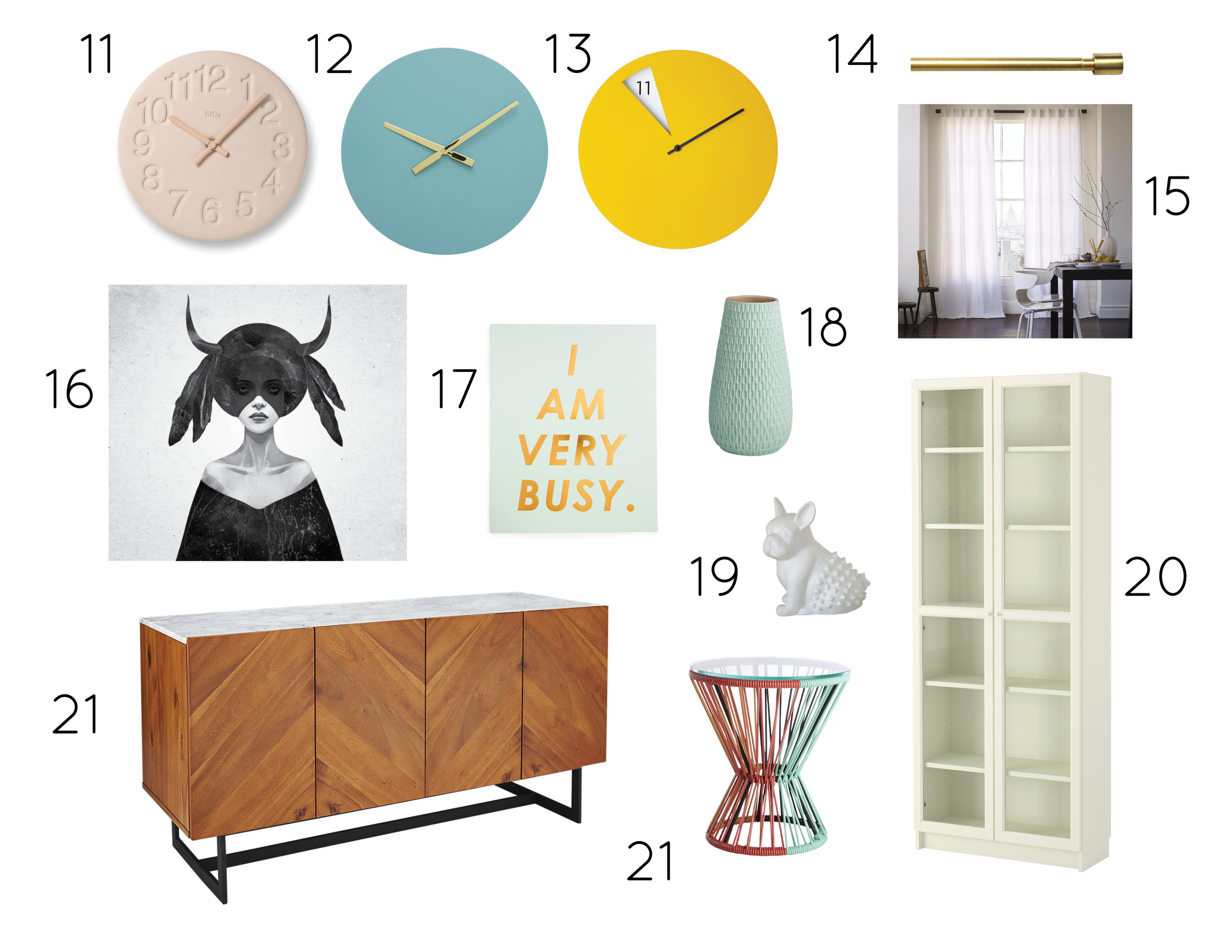 Busy Gal's Pad Homepolish, Living Room Selections