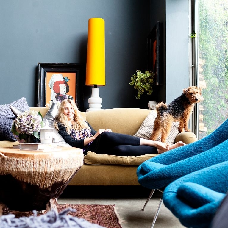 Abigail Ahern  , the queen of dark, moody and dreamy interiors, also has a sweet blog with business tips for bloggers/designers and teaches an Interior Design Masterclass in the UK...she loves to pay it forward.