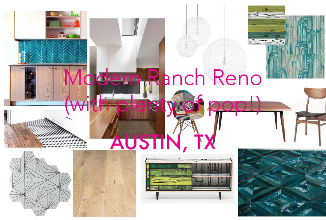 Modern Ranch Reno (with plenty of pop!)
