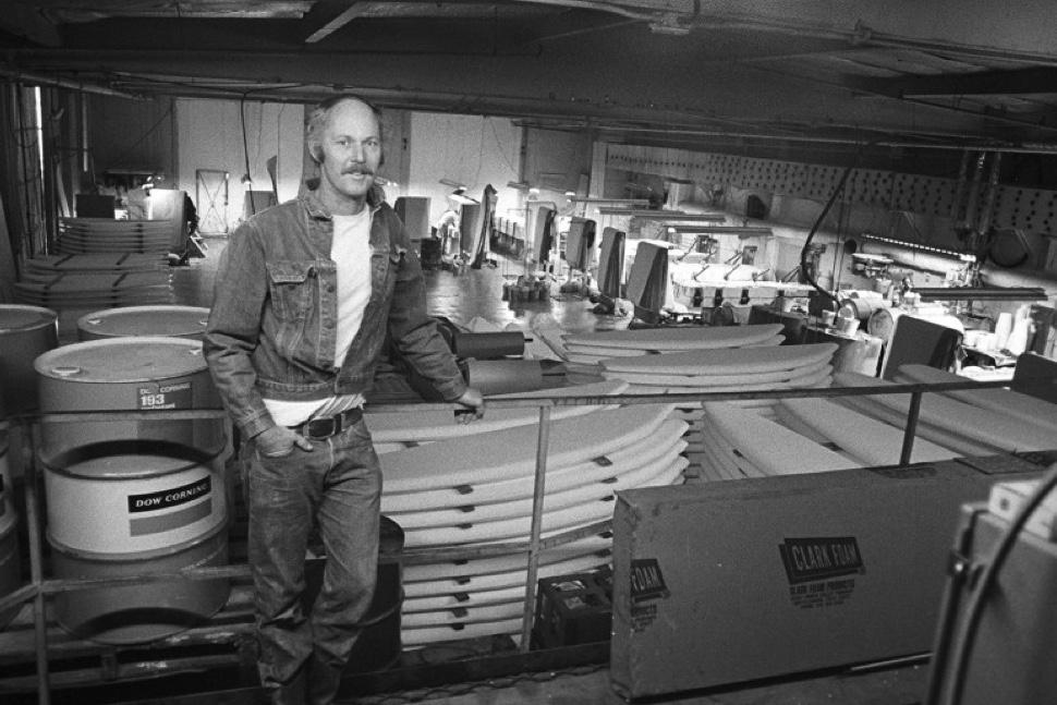 Grubby Clark, mid-70s. Photo:Surfer Mag