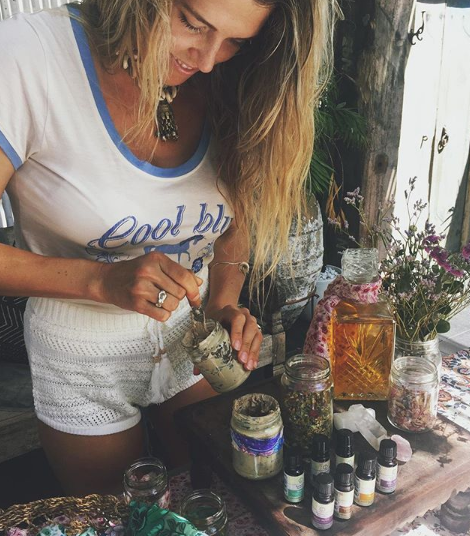 This photo was taken from our collaboration with  Spell Byron Bay ! So wonderful to see such a big brand making such big moves for their staff, community, & planet!