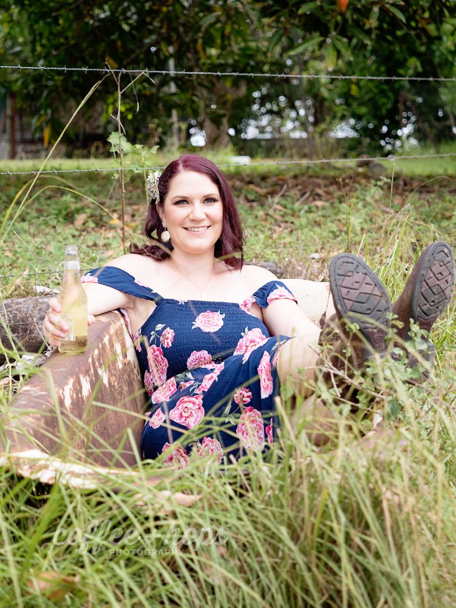 Samantha's 30th Birthday Portrait Session in Mackay