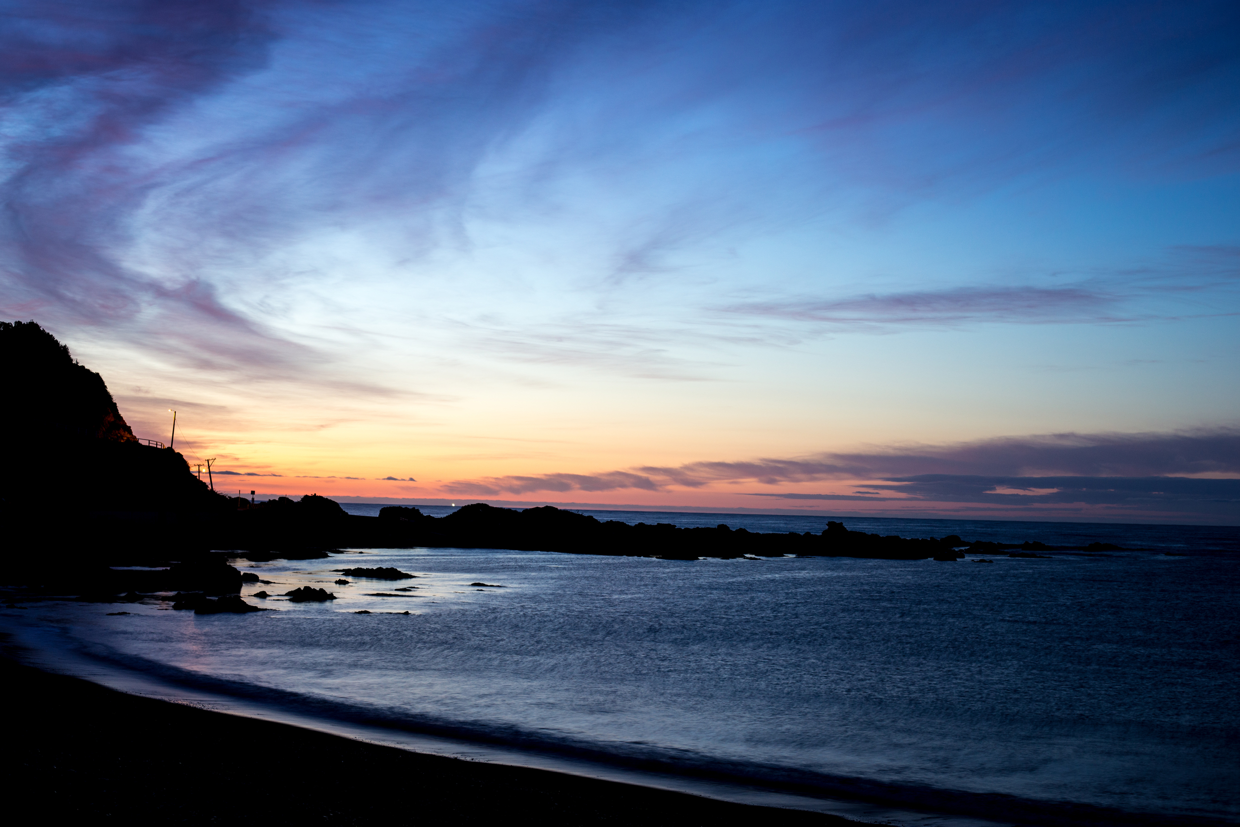 Owhiro Bay at Sunrise