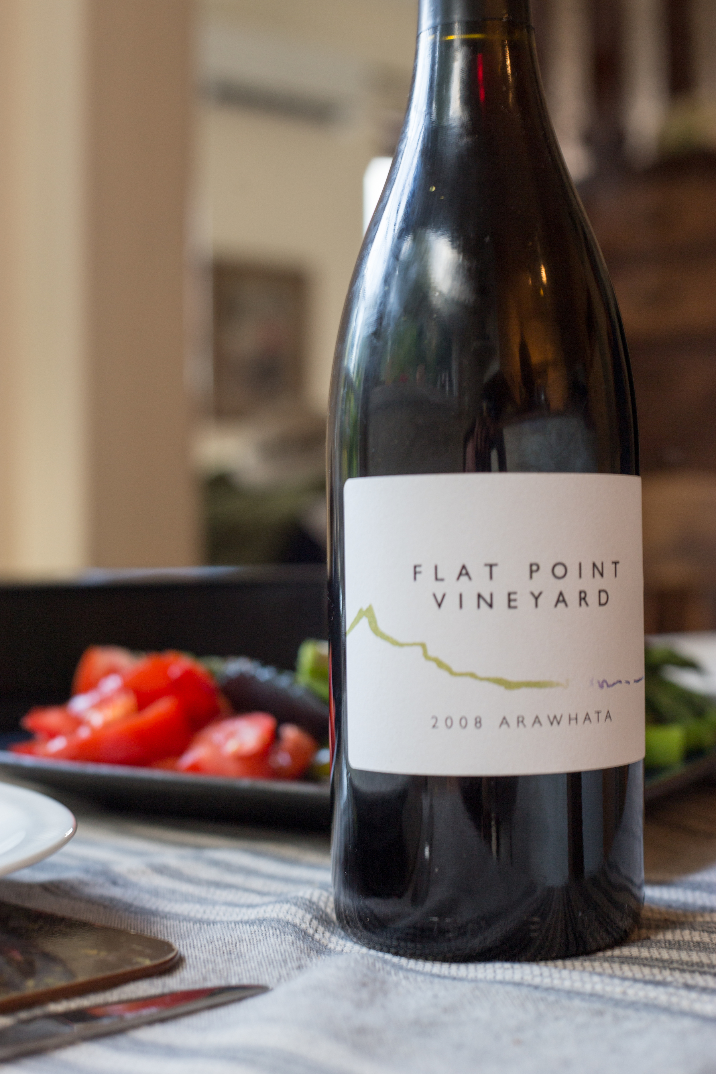 The beautiful wine from Flat Point